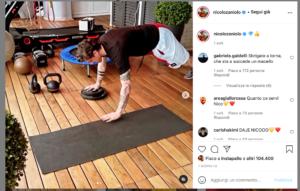 Nicolo Zaniolo - Official Instagram